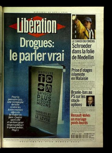 Drogues Parler Vrai 26 avril 2000