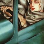 tamaradelempicka_selfportrait_in_the_green_bugatti