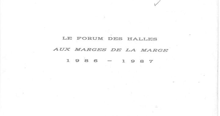 Forum  des Halles 1